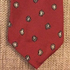 Vintage Silk Tie Pierre Balmain Paris